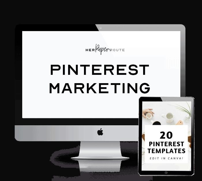 pinterest marketing course pin templates bonus