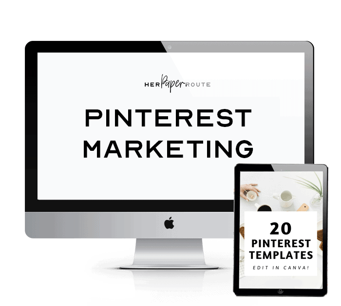 pinterest marketing course pin templates bonus