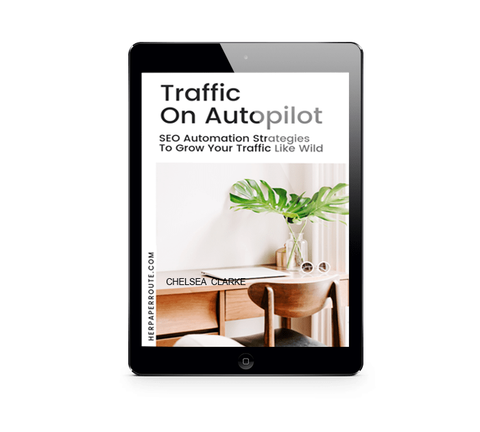 traffic on autopilot book