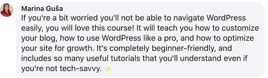 wicked at wordpress course for bloggers