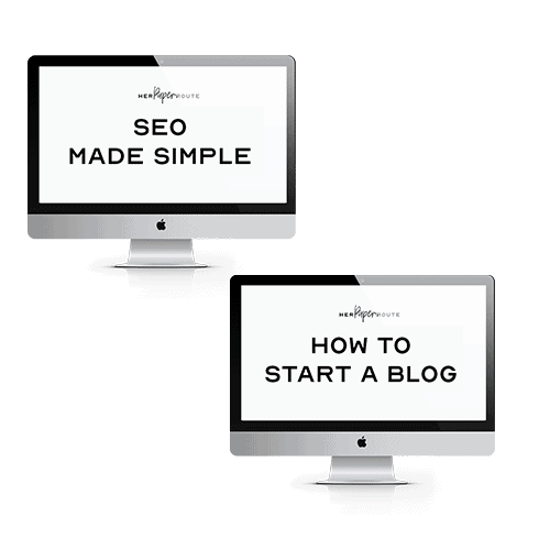 website in a box free courses blog starter kit