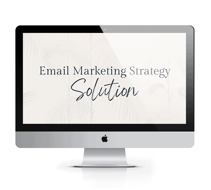 email marketing strategy solution