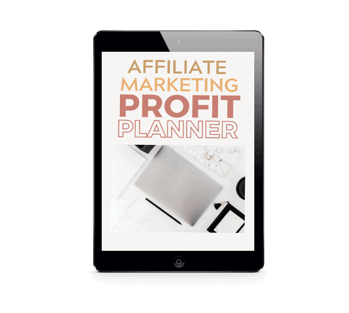 affiliate marketing profit planner