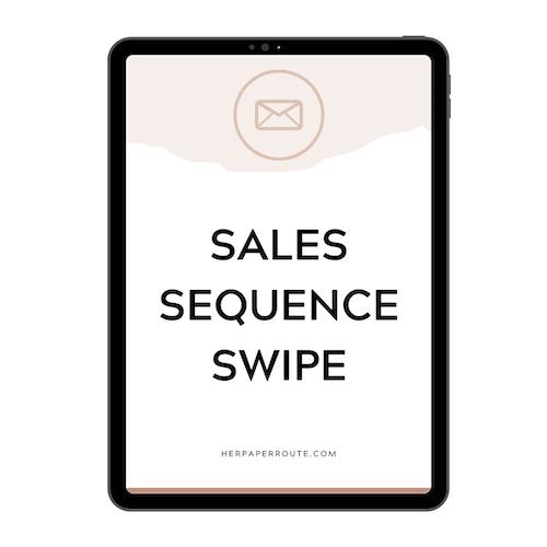 email marketing course swipe file bonus